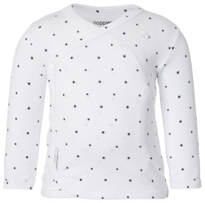 Noppies Langarmshirt Anne white