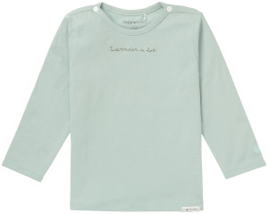 Noppies T-shirt manches longues Chris grey-mint