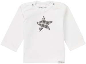 Noppies Langarmshirt Melanie white