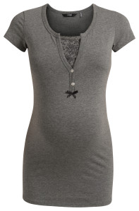 Noppies Pyjama Still-Top Elise anthracite