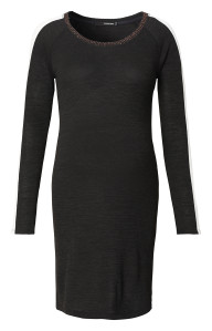 Robe Black Ribbing