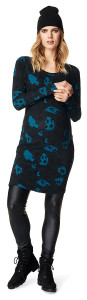 Robe Leopard Blue