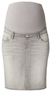 Esprit Jupe grey-denim