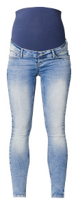 Supermom Skinny Umstandsjeans light-wash