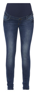 Noppies Slim Umstandsjeans Holly stone-wash