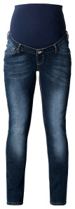 Noppies Straight Umstandsjeans Mena dark-stone-wash