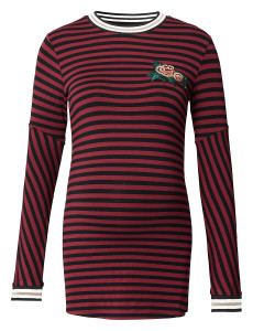 T-shirt manches longues Red Stripe