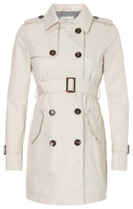Esprit Trench-coat almond-cream