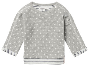 Noppies Pullover Barni grey-melange