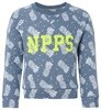 Noppies Pullover Bob blue-melange