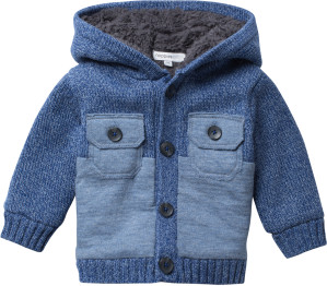 Noppies Gilet Camas blue-melange
