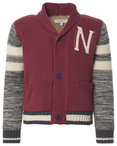 Noppies Strickjacke Canyon bordeaux