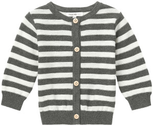 Noppies Strickjacke Daone charcoal-melange
