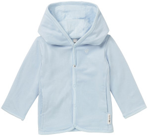 Noppies Vest Joke light-blue