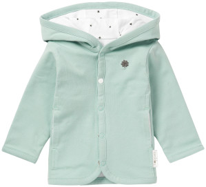 Noppies Vest Nusco grey-mint
