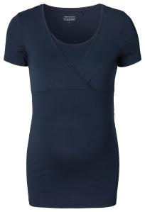 Noppies T-shirt d'allaitement Lely dark-blue